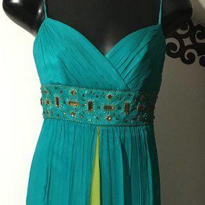 NWT Laundry Mid Length dress beaded